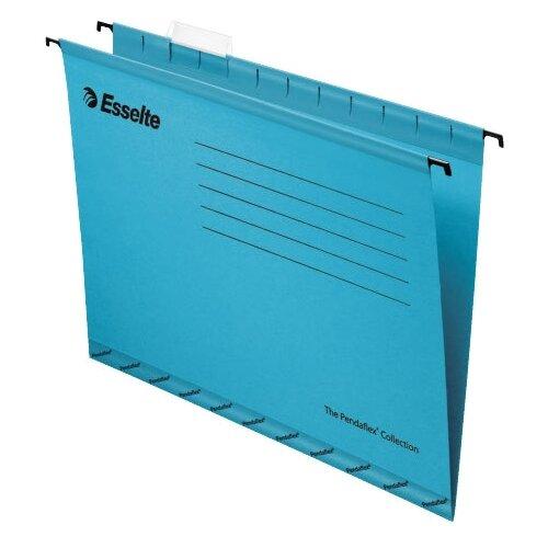 Купить Esselte Папка подвесная Pendaflex plus foolscap А4+, картон, 25 шт синий, Файлы и папки
