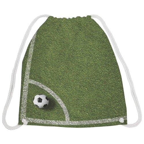 Купить JoyArty Рюкзак-мешок Угловой удар (bpa_12412) зеленый, Мешки для обуви и формы