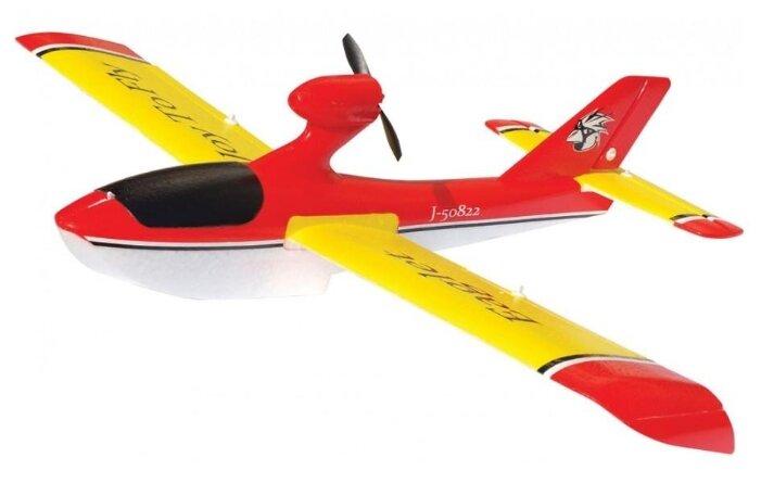 Самолет Joysway Eaglet Brushed V2 (6031) 53.8 см красный/желтый/белый фото 1