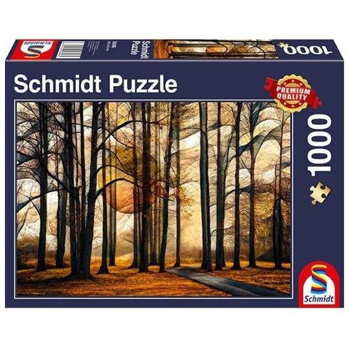 Фото - Пазл Schmidt Магический лес (58396), 1000 дет. пазл schmidt цветочные сердца 58327 2000 дет