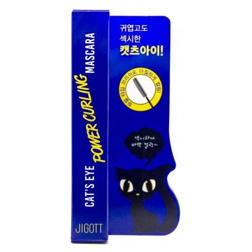 Купить Jigott Тушь для ресниц Cats Eye Power Curling Mascara, черный