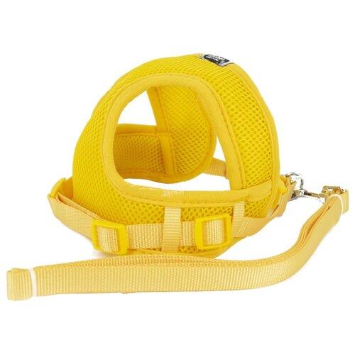 Шлейка с поводком Удачная покупка P0029 желтый зонт механика удачная покупка ys01 черный желтый