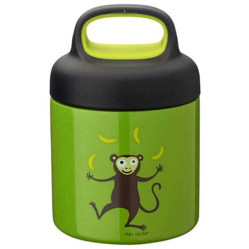 Термос для еды Carl Oscar LunchJar Monkey (0.3 л) лайм недорого