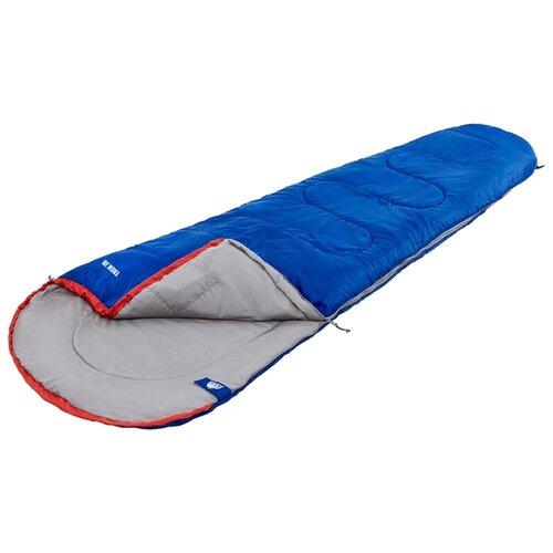 Спальный мешок TREK PLANET Trek Jr синий с левой стороны