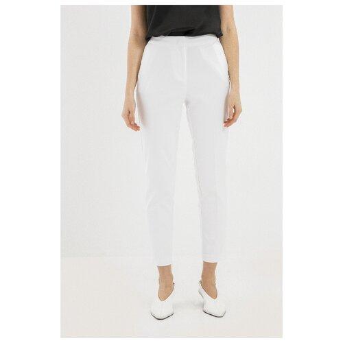 Фото - Брюки Zarina, размер 44(S), белый джинсы zarina 0328465765 101