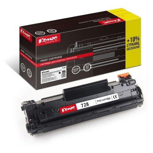 Фото - Картридж лазерный Комус Cartridge 728 черный, для Canon MF4410/4430 картридж комус 728 совместимый