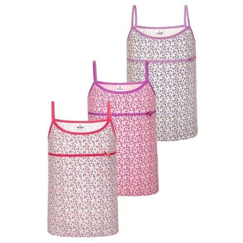 Купить Майка BAYKAR размер 134/140, белый/розовый/молочный, Белье и купальники