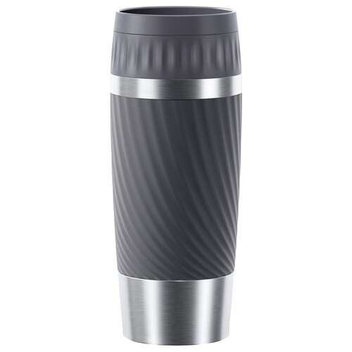 Термокружка EMSA Travel Mug Easy Twist, 0.36 л графит