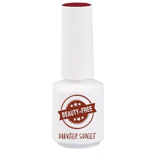 Гель-лак для ногтей Beauty-Free Winter Sweet, 8 мл, красный  - Купить