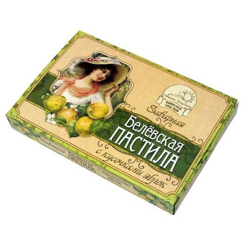 Пастила Старые Традиции Белёвская заварная с кусочками яблок, 170 г
