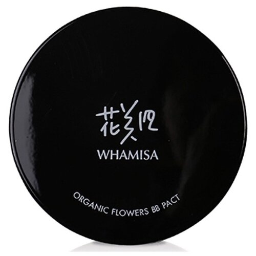 Whamisa BB кушон Organic Flowers, SPF 50, 16 г, оттенок: #23 Natural Beige images bb кушон air 20 г оттенок 01 natural
