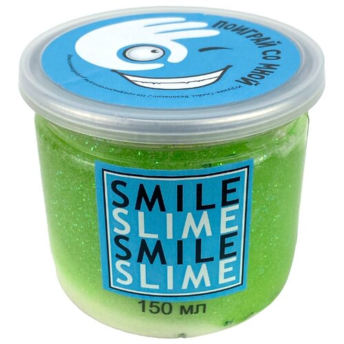 Купить Жвачка для рук Smile Slime Deep House салатовый, Игрушки-антистресс