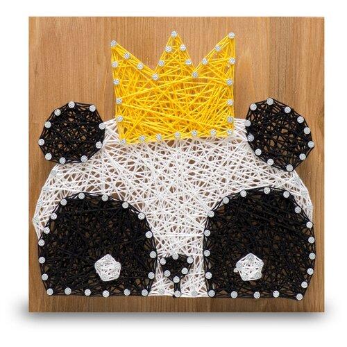 Купить Набор для творчества Стринг Арт. Панда kids, String Art Lab, Поделки и аппликации
