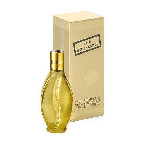 Туалетная вода Cafe Parfums Gold Label, 30 мл туалетная вода cafe parfums cafe cafe puro 50 мл