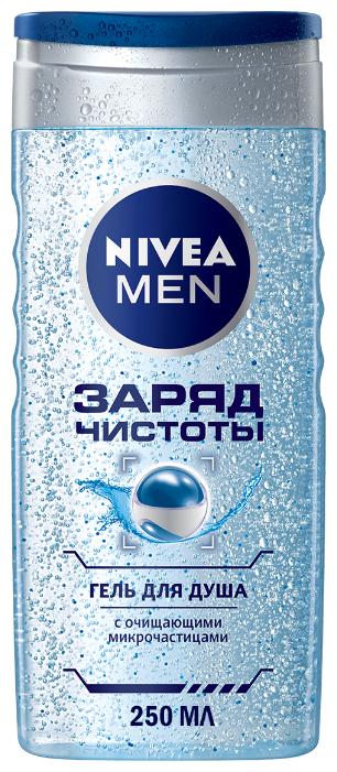 Гель для душа Nivea Men Заряд чистоты