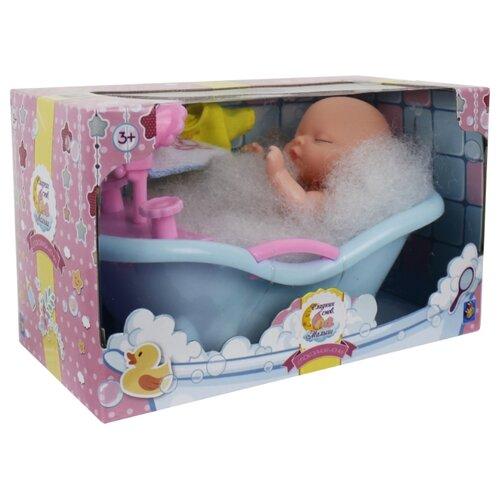 Купить Пупс 1 TOY в ванне с одеждой, Т14148, Куклы и пупсы