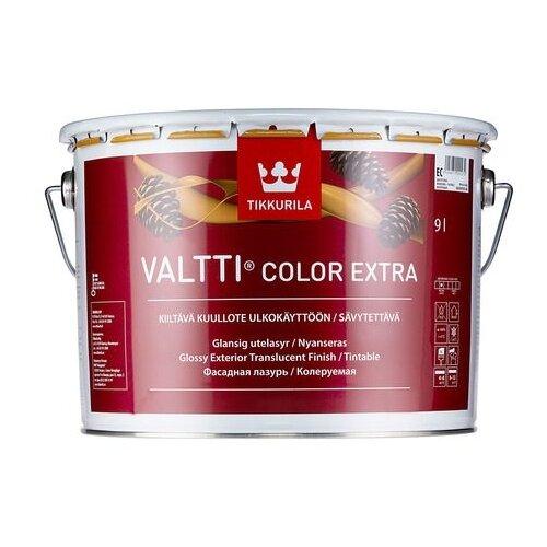 Водозащитная пропитка Tikkurila Valtti Color Extra бесцветный 9 л