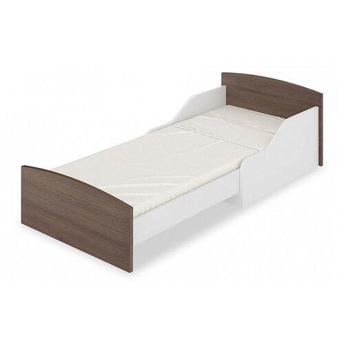Кровать-трансформер детская Мэрдэс Кровать-трансформер КТД, раздвижная, каркас: ЛДСП, цвет: белый/шамони