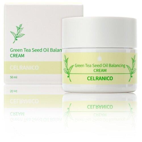 Фото - Celranico Green Tea Seed Oil Balancing Cream Балансирующий крем для лица с семенами зеленого чая, 50 мл janssen крем balancing cream балансирующий 200 мл