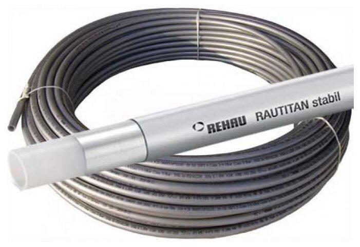 Труба из сшитого полиэтилена армированная алюминием REHAU Rautitan stabil 16 универсальная, DN12 мм — купить по выгодной цене на Яндекс.Маркете