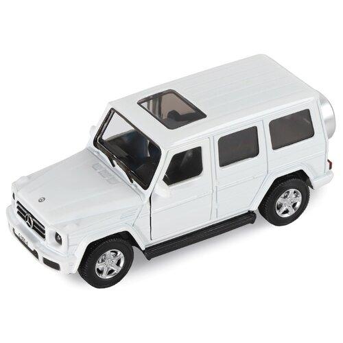 Купить Внедорожник Автопанорама Mercedes-Benz G350d белый, Машинки и техника