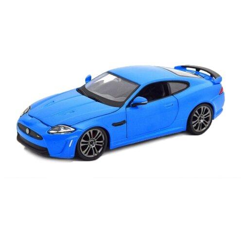 Купить Легковой автомобиль Bburago Jaguar XKR-S (18-21063) 1:24 синий, Машинки и техника