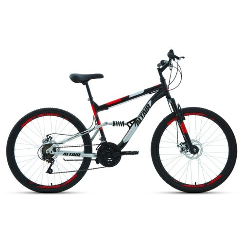 """Горный (MTB) велосипед ALTAIR MTB FS 26 2.0 Disc (2020) черный 18"""" (требует финальной сборки)"""