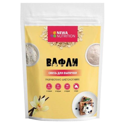 Фото - NEWA Nutrition смесь для выпечки Вафли с ванильным вкусом, 0.2 кг смесь для десерта newa nutrition пудинг шоколадный вкус 150 г