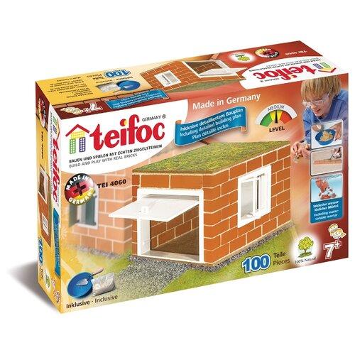 Фото - Конструктор TEIFOC Junior TEI4060 Гараж конструктор teifoc classics tei9010 цветник