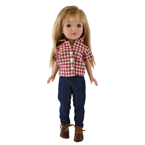 Кукла Vidal Rojas Пепа блондинка в брюках (в подарочной коробке), 41 см, 4514 цена 2017