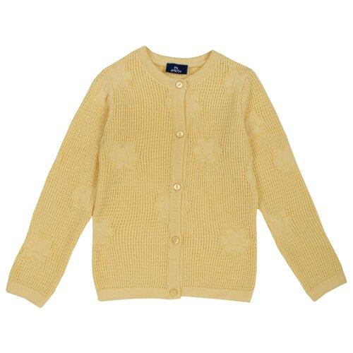 Купить Кардиган Chicco размер 116, желтый, Свитеры и кардиганы