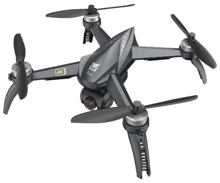 Квадрокоптер MJX Bugs 5W (4K) + сумка черный фото 1