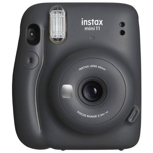 Фото - Фотоаппарат моментальной печати Fujifilm Instax Mini 11, charcoal grey фотоаппарат моментальной печати canon zoemini c цвет морской волны