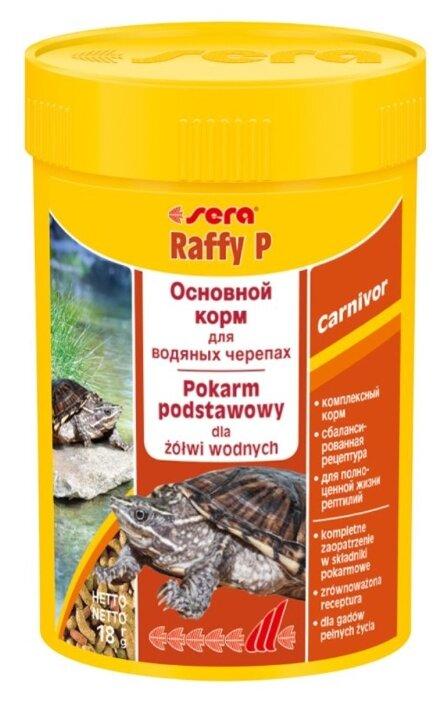 Сухой корм Sera Raffy P для рептилий