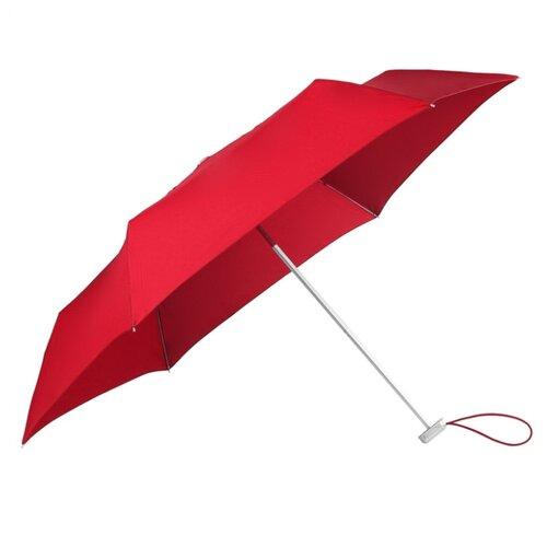 Зонт механика Samsonite Alu Drop S (6 спиц, маленькая ручка) красныйЗонты<br>