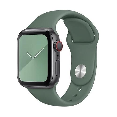 Gurdini Ремешок силиконовый для Apple Watch 38/40mm pine green