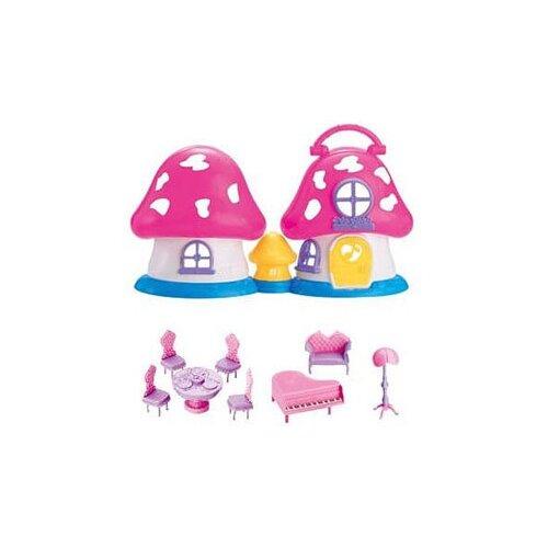 Jia Huan Long Toys кукольный домик Sweet Family 200489880, белый/розовый набор jin jia tai 870 розовый голубой белый