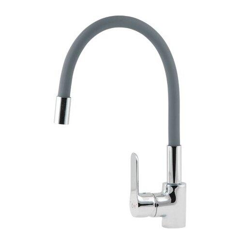 Смеситель для кухни (мойки) AV Engineering AVOLA4-A279 однорычажный серый смеситель для кухни мойки florentina дельта av однорычажный песочный