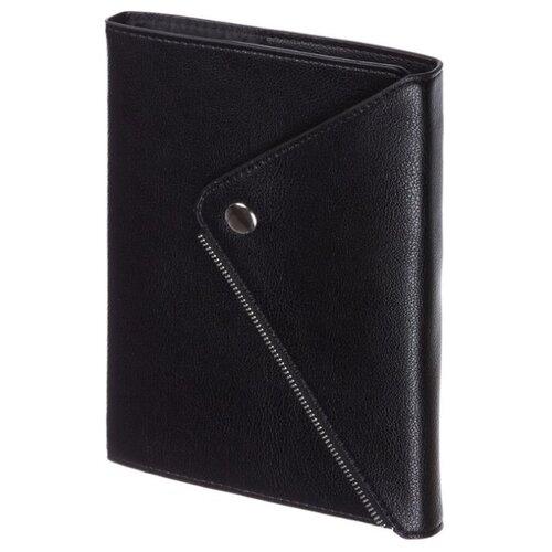 Купить Ежедневник InFolio Grunge недатированный, искусственная кожа, А5, 160 листов, черный, Ежедневники, записные книжки
