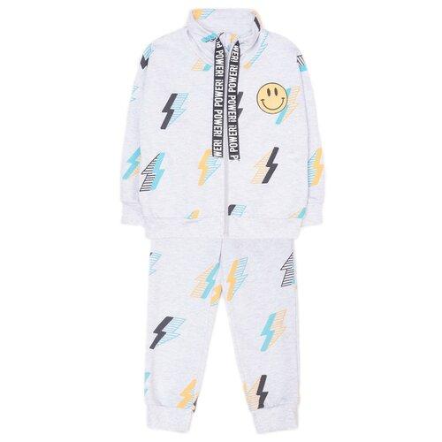 Купить Комплект одежды crockid размер 98, светло-серый меланж, Комплекты и форма