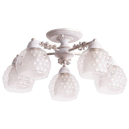 Люстра Arte Lamp Malina A7695PL-5WG, E27, 300 Вт
