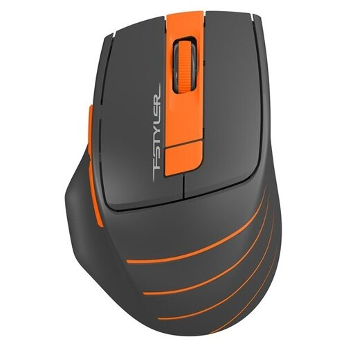 Мышь A4Tech Fstyler FG30 USB orange мышь a4tech fstyler fg30 grey orange
