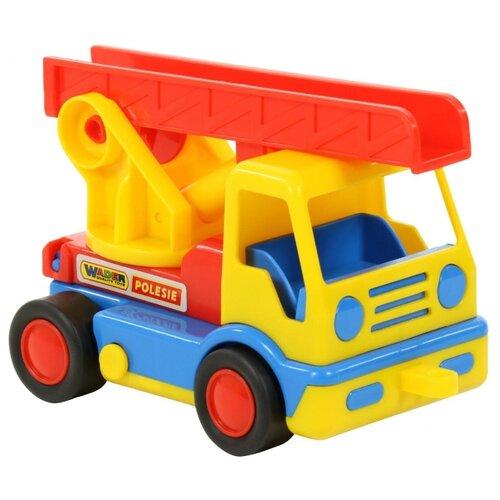 Купить Пожарный автомобиль Wader Базик (38166) 19 см, Машинки и техника