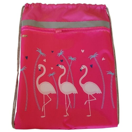 №1 School Мешок для обуви Фламинго (1017939) розовый 1 school мешок для обуви клетка розовая 1017935 розовый