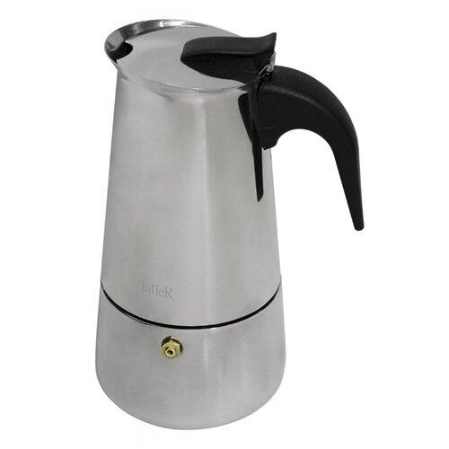 Гейзерная кофеварка Taller Corretto (300 мл), серебристый матрас corretto bella 700х1600