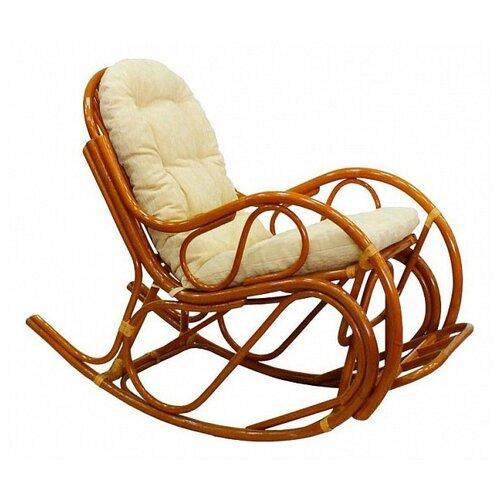 Кресло-качалка ЭкоДизайн 05/17 коньячный