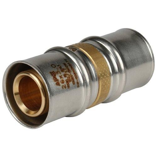 Фото - Муфта STOUT SFP-0003-002626 26x26 пресс 1 шт. муфта соединительная равнопроходная stout sfp 0003 002626 26х26 мм для металлопластиковых труб прессовая