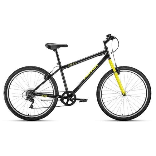 """Горный (MTB) велосипед ALTAIR MTB HT 26 1.0 (2020) черный/желтый 17"""" (требует финальной сборки)"""