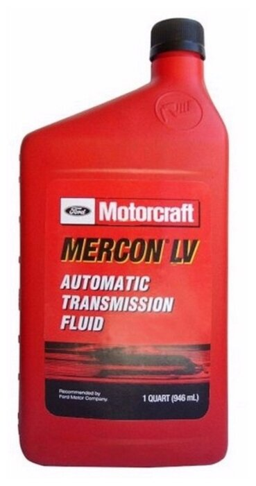Масло (жидкость) для АКПП Ford Motorcraft Mercon LV XT10QLVC 0.946л