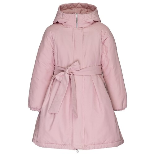Купить Полупальто Gulliver 21907GJC4503 размер 158, розовый, Пальто и плащи